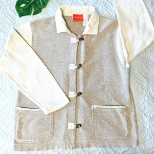 Liz Claiborne Cardigan Sweater with Pockets